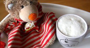 Rezept für einen Baby-Cappuccino ohne Zucker