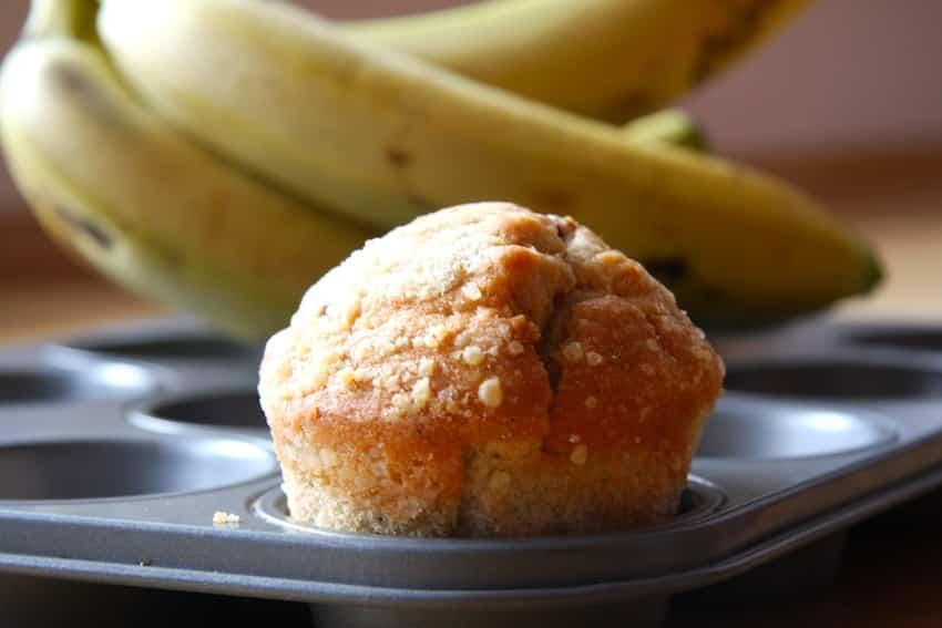 rezept f r bananenbrot muffins ern hrung ohne zucker. Black Bedroom Furniture Sets. Home Design Ideas