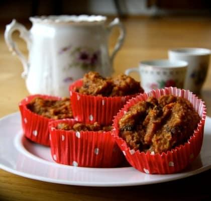 rezept f r apfel m hren muffins ohne zucker. Black Bedroom Furniture Sets. Home Design Ideas