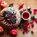 Rezept für einen gedeckten Apfelkuchen ohne Zucker