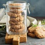 Rezept für Haselnusskekse ohne Zucker