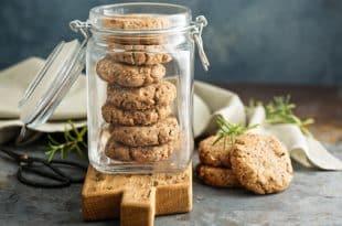 Rezept für Haselnusskekse aus der Mikrowelle ohne Zucker