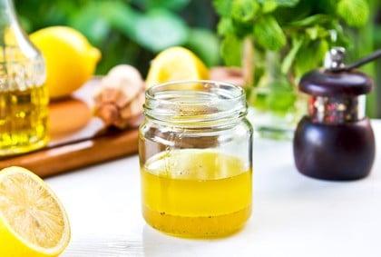 Rezept für ein Honig-Senf-Dressing