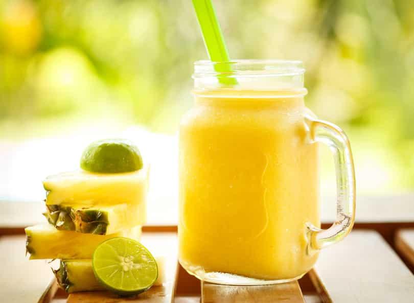 Früchte-Smoothie ohne Zucker