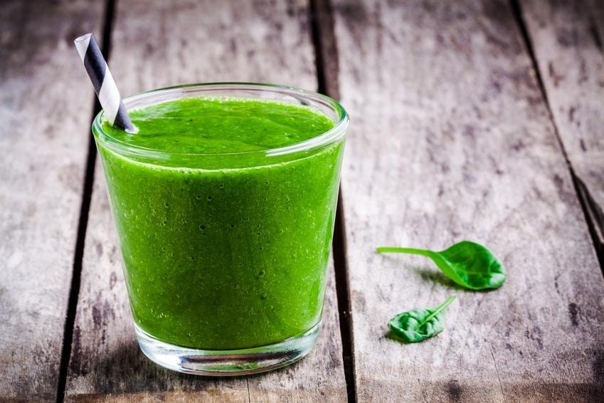 Rezept für einen Spinat-Smoothie ohne Zucker