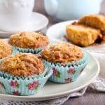 Rezept für Apfel-Vollkornmuffins ohne Zucker