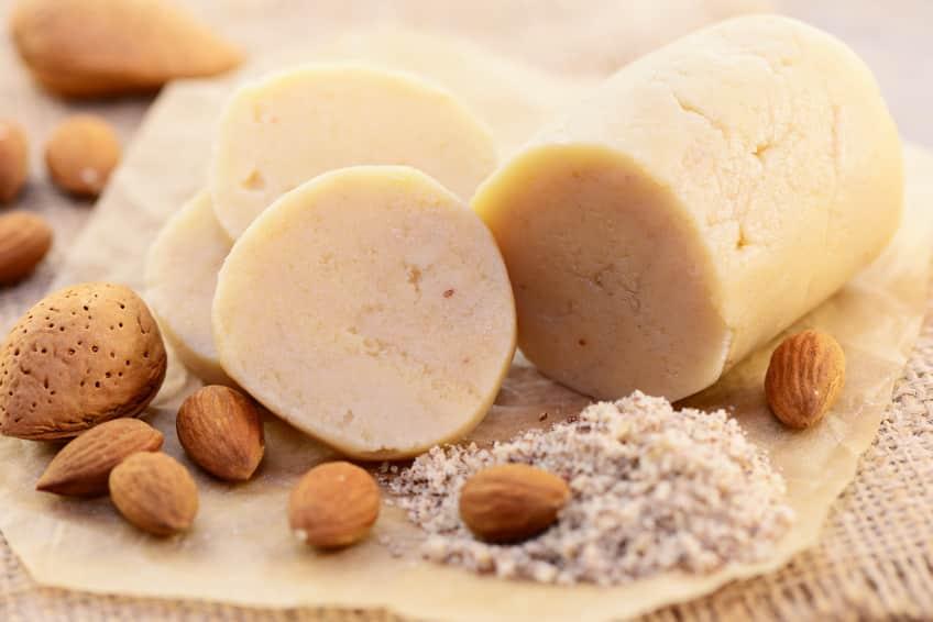 Rezept für Marzipan ohne Zucker