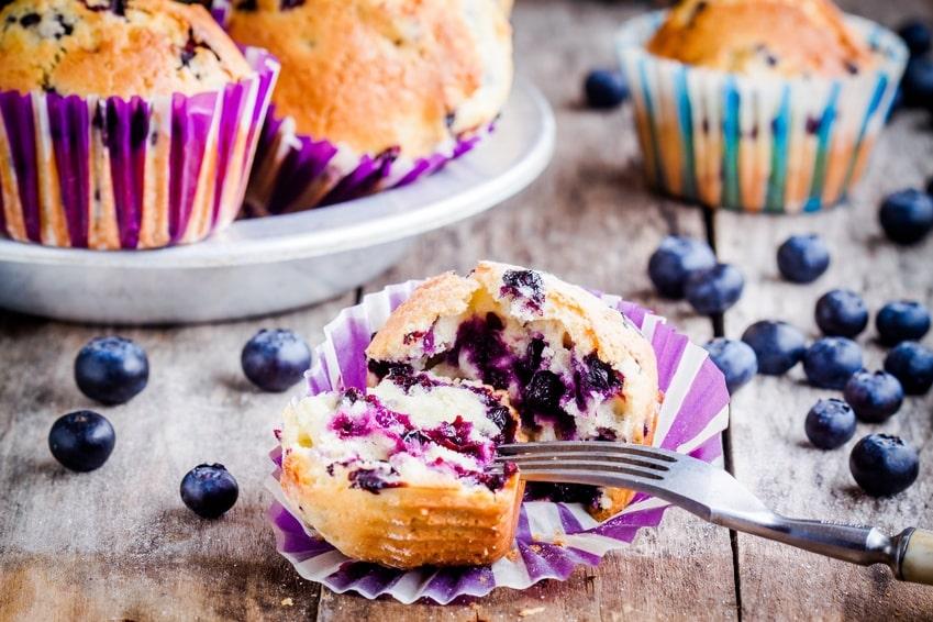 rezept für blaubeermuffins ohne zucker ernährung ohne zucker