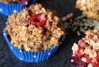 Rezept für Beeren-Quinoa-Muffins ohne Zucker