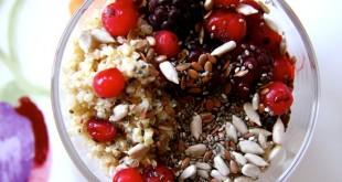 Rezept für ein gesundes Quinoa-Frühstück