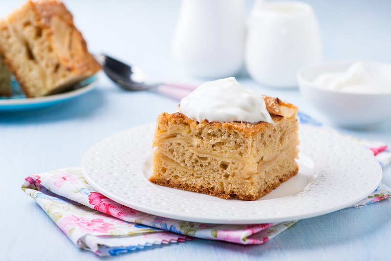 Blechkuchen ohne Zucker