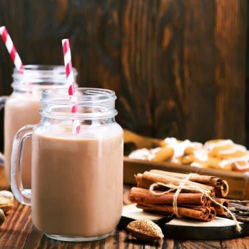 Gewürz-Schokomilch ohne Zucker