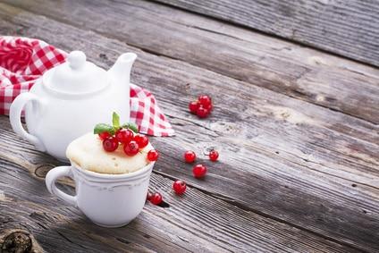 Zuckerfreier Zitronen-Tassenkuchen