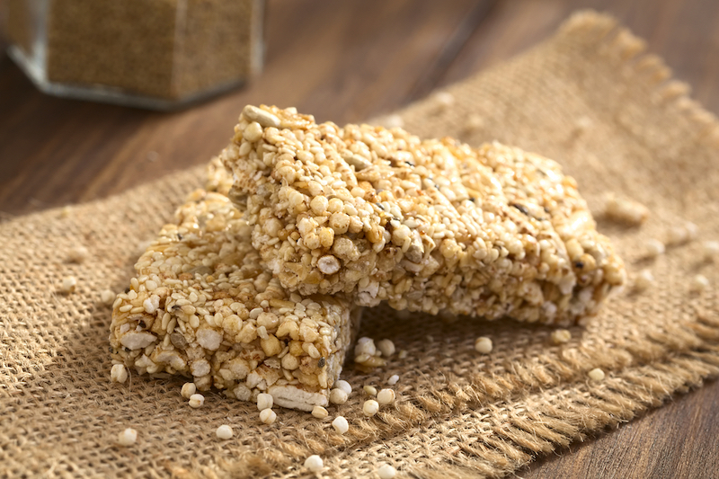 Quinoa-Müsliriegel ohne Zucker