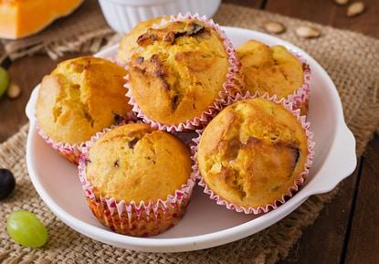 Zuckerfreie Süßkartoffelmuffins