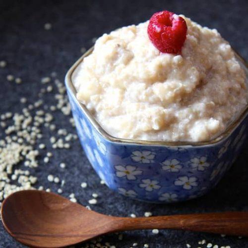 Rezept für  Quinoa-Frühstücksbrei ohne Zucker