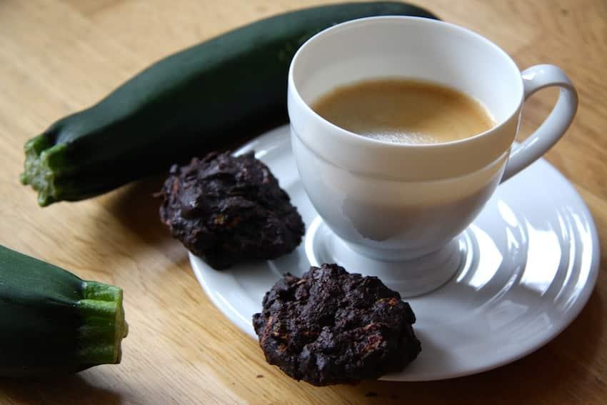 Rezept für Schoko-Zucchini-Cookies ohne Zucker