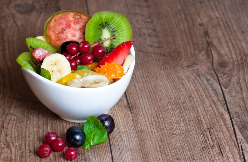 Obst und Gemüse ohne Zucker