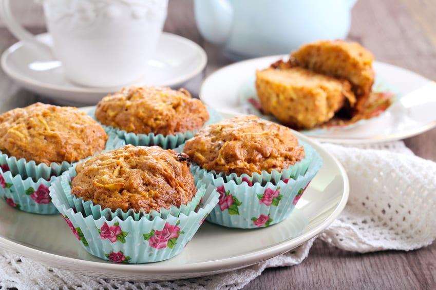Apfel-Vollkornmuffins ohne Zucker
