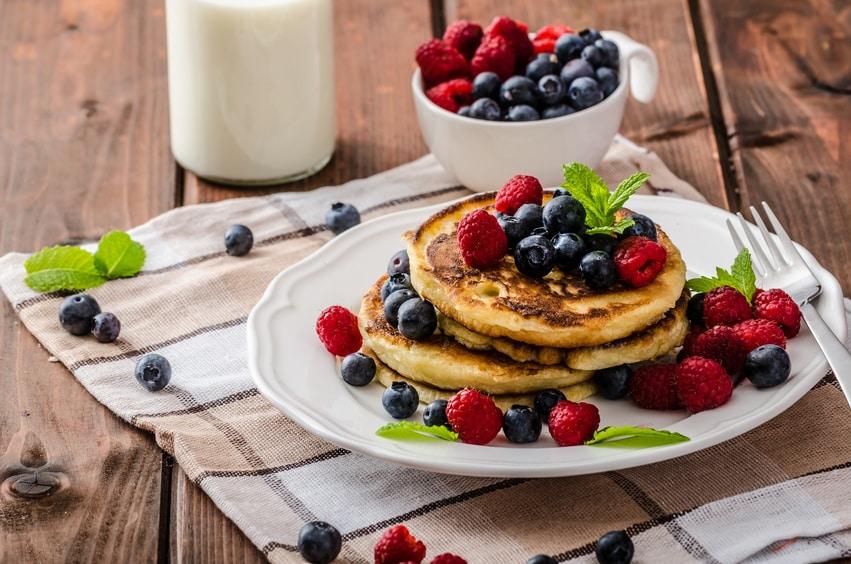 Rezept für Pfannkuchen ohne Zucker