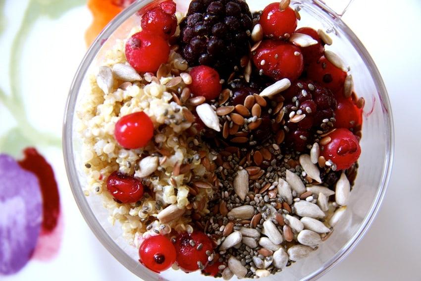 Gesundes Quinoa-Frühstück