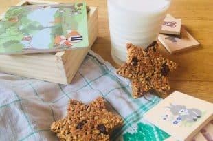 Rezept für zuckerfreie Haferflocken-Müslikekse