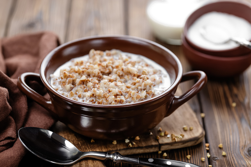 Zuckerfreies Hirse-Porridge